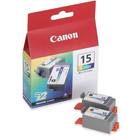Canon BCI-15 (8191A003) Black Original Ink Cartridge Twin Pack