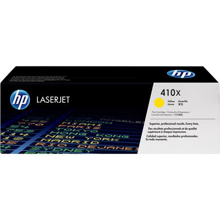 HP 410X (CF412X) Yellow Original High Capacity Toner Cartridge
