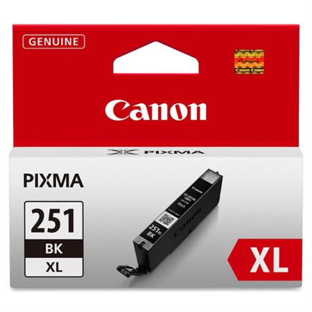Canon CLI-251XL Black Original High Capacity Ink Cartridge