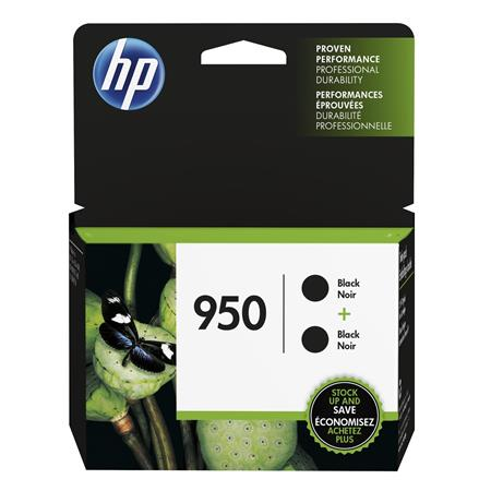HP 950 (L0S28AN) Black Original Standard Capacity Ink Cartridges (Twin Pack)