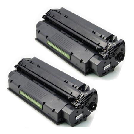 15XX Black Remanufactured Toner Cartridges Twin Pack