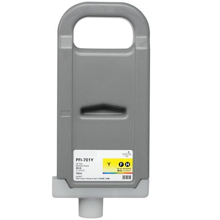 Compatible Yellow Canon PFI-701Y Ink Cartridge (Replaces Canon 0903B001AA)