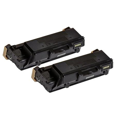 Compatible Twin Pack Black Xerox 106R03621 Toner Cartridges