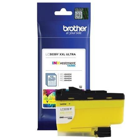 Brother LC3039Y Yellow Original Ultra High Capacity Ink Cartridge