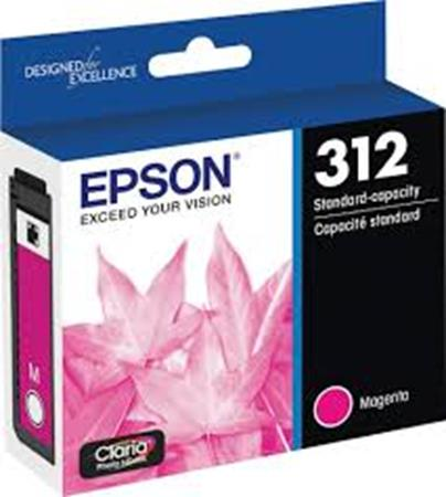 Epson 312 (T312320) Magenta Standard Capacity Ink Cartridge