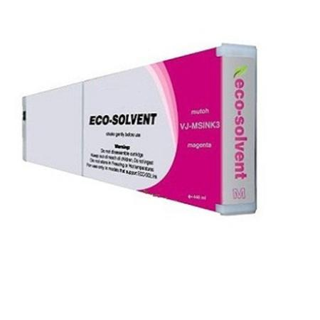 Mutoh VJ-MSINK3-MA Compatible Eco-Solvent Magenta High Capacity Inkjet Cartridge