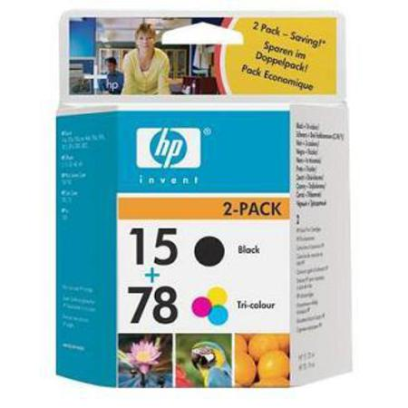 HP 15/78D Original Inkjet Print Cartridge Combo Pack (C8789FN)