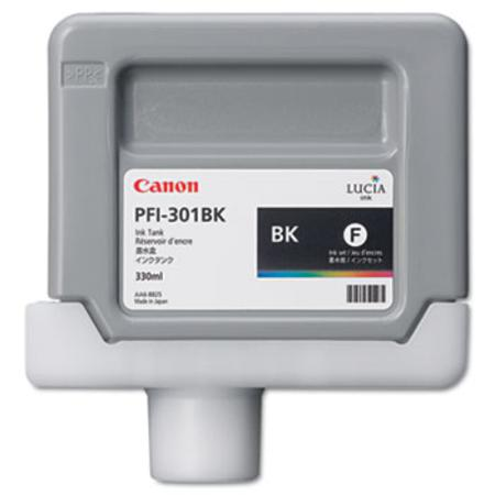Canon PFI-301BK (1486B001AA) Original Black Ink Cartridge