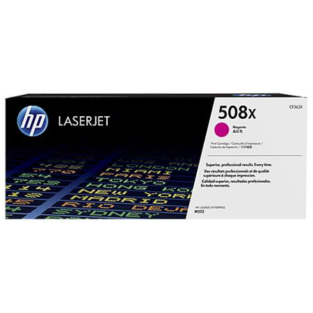 HP 508X Magenta Original High Capacity Toner Cartridge (CF363X)