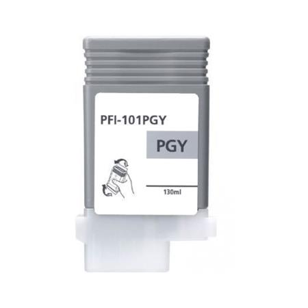 Compatible Grey Canon PFI-101PGY Ink Cartridge (Replaces Canon 0893B001AA)
