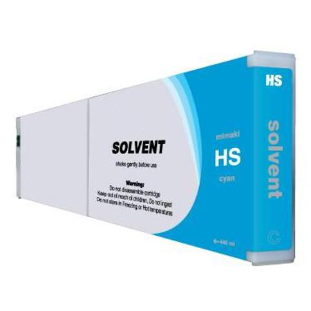Mimaki HS Compatible Hard Solvent Cyan Inkjet Cartridge