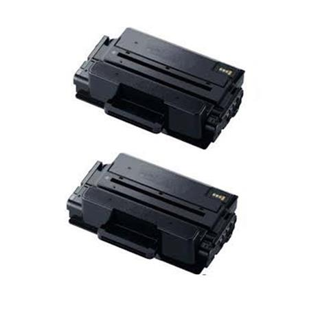 Clickinks MLT-D203L Black Remanufactured Toner Cartridges Twin Pack