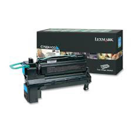 Lexmark C792A1CG Original Cyan Standard Capacity Return Program Toner Cartrigde