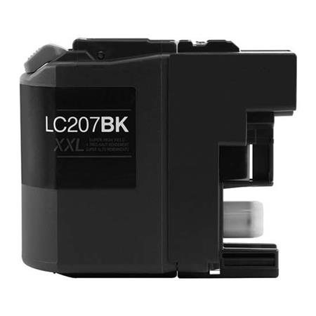 Brother LC207BK Black Compatible Super High Capacity Ink Cartridge