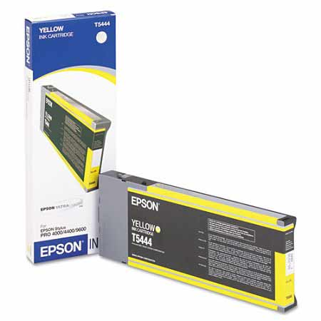 Epson T544400 Yellow Original UltraChrome Ink Cartridge