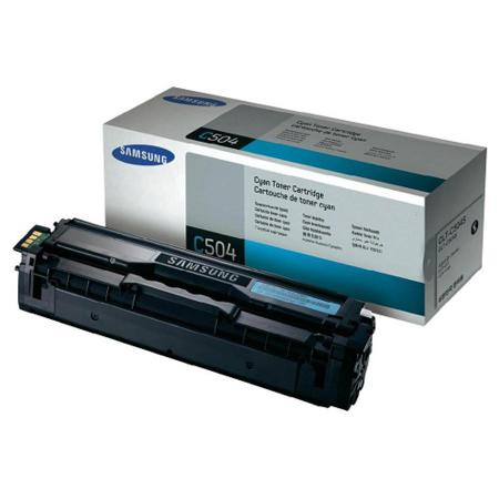 Samsung CLT-C504S Cyan Original Toner Cartridge