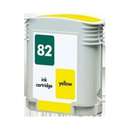 HP 82 Remanufactured Yellow Inkjet Cartridge (C4913A)