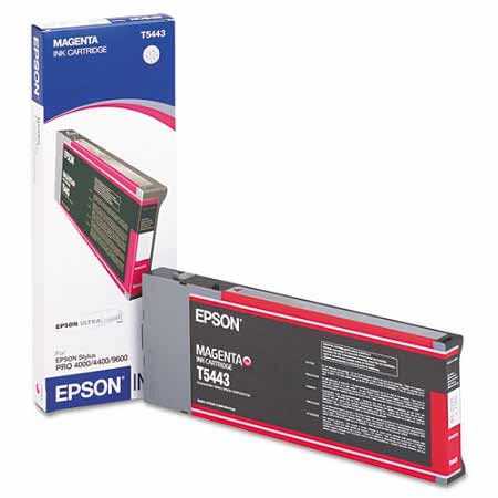 Epson T544300 Magenta Original UltraChrome Ink Cartridge