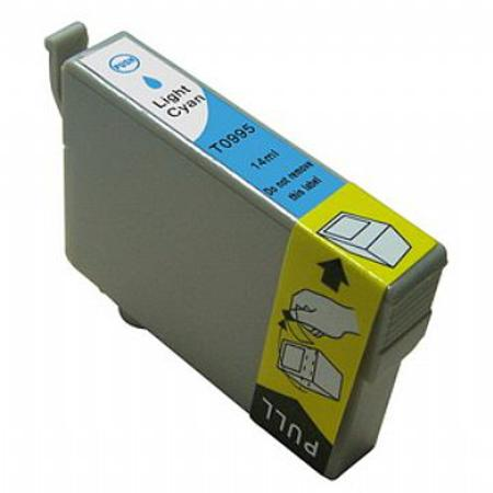Compatible Light Cyan Epson T0995 Ink Cartridge (Replaces Epson T099520)
