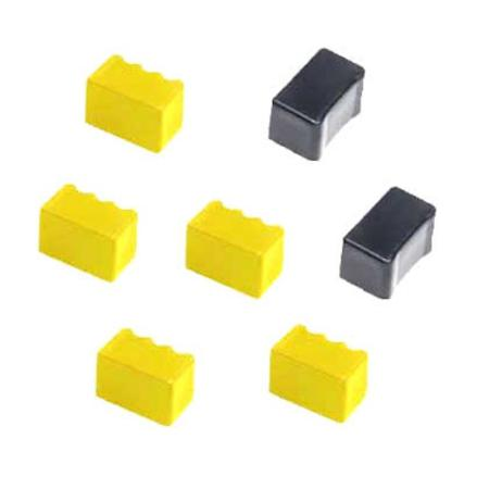 Compatible 5 Yellow/2 Black Xerox 016190501 Solid Ink Cartridge