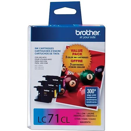Brother LC713PKS Color Original Standard Capacity Ink Cartridge Multipack - 3 Pack