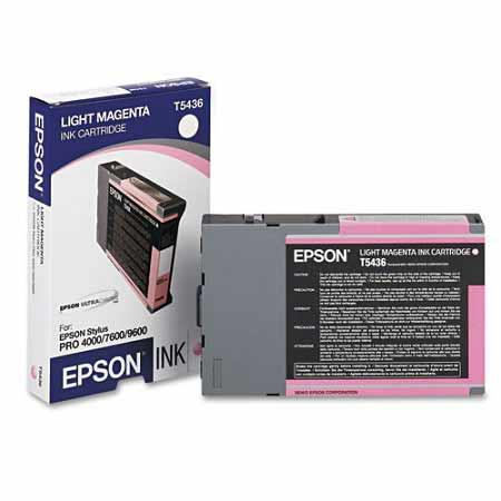 Epson T5436 (T543600) Original Light Magenta Ink Cartridge