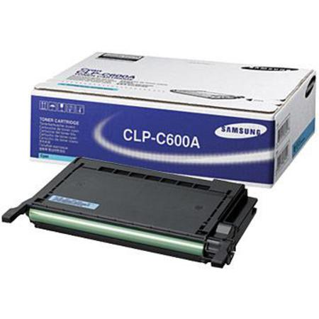 Samsung CLP-C600A Original Cyan Toner Cartridge