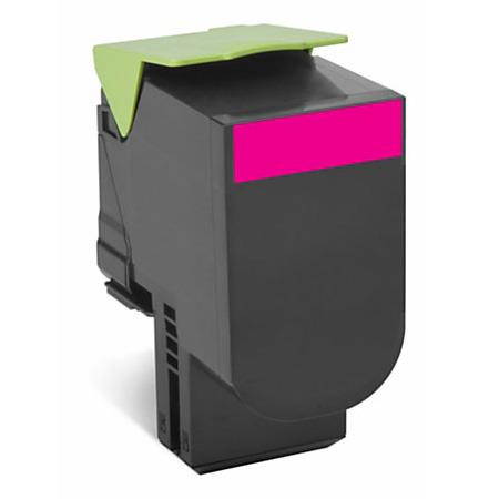 Lexmark C540H1MG Magenta Remanufactured High Capacity Laser Toner Cartridge