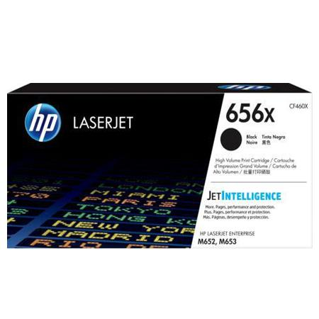 HP 656X (CF460X) Black Original High Capacity Toner Cartridge