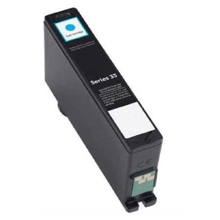 Dell 331-7378 (series 33) Remanufactured Cyan Extra High Capacity Ink Cartridge (8DNKH)
