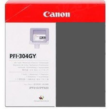 Canon PFI-304GY Original Gray Ink Cartridge