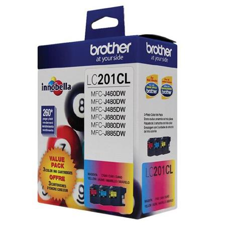 Brother LC2013PKS Color Original Standard Capacity Ink Cartridge Multipack - 3 Pack
