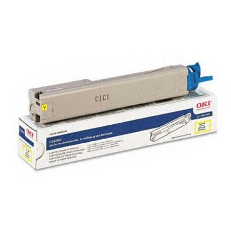 OKI 43459301 Yellow Original Toner Cartridge