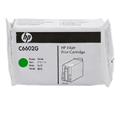 HP C6602G Original Green Ink Cartridge