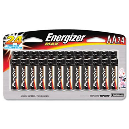 MAX Alkaline Batteries  AA  24 Batteries/Pack