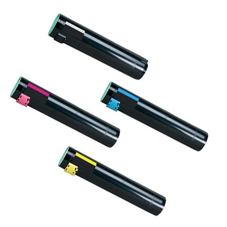 Compatible Multipack Lexmark C950X2KG/C/M/YG Full Set Toner Cartridges