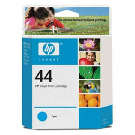 HP 44 Cyan Original Inkjet Print Cartridge (51644C)