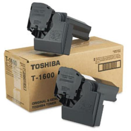 Toshiba T-1600 Black Original Toner Cartridge