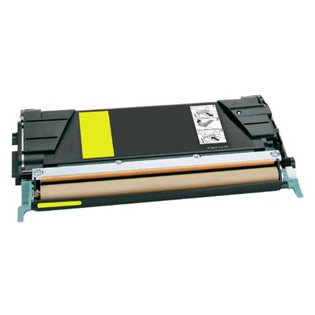 Lexmark C748H1YG Yellow Remanufactured High Capacity Toner Cartridge