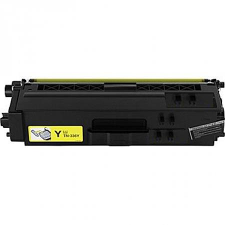 Compatible Yellow Brother TN336Y High Yield Toner Cartridge