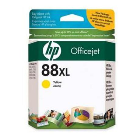 HP 88XL Yellow Original Ink Cartridge with Vivera Ink (C9393AN)