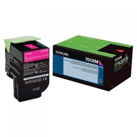 Lexmark 70C1XM0 Magenta Original Extra High Capacity Return Program Toner Cartridge