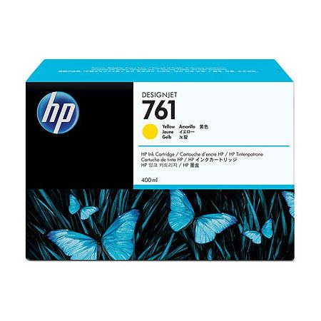 HP 761 Yellow Original Ink Cartridge (CM992A) (400ml)