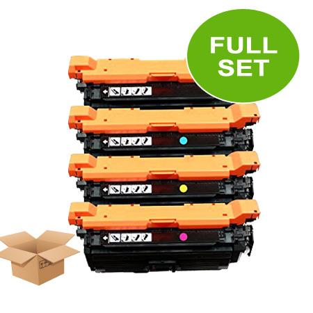 Compatible Multipack HP 652A/653A Full Set Toner Cartridges