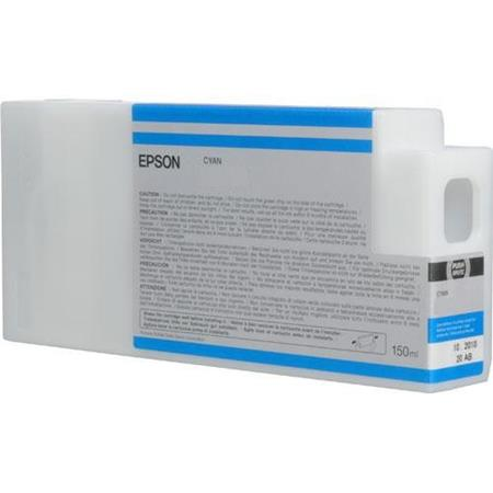 Epson T8342 (T834200) Cyan Original UltraChrome HDX Ink Cartridge (150 ml)