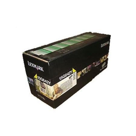 Lexmark 15G642Y Original Yellow High Yield Return Program Toner Cartridge
