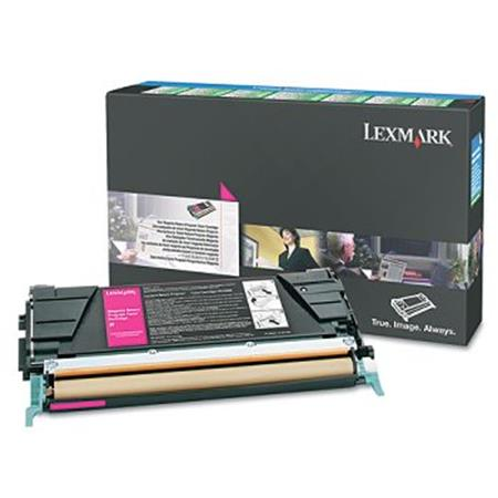 Lexmark C5246MH Original Magenta High Yield Return Program Laser Toner Cartridge