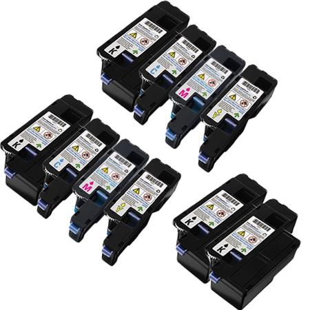 Clickinks 331-0777/331-0780 2 Full Set + 2 EXTRA Remanufactured Toners