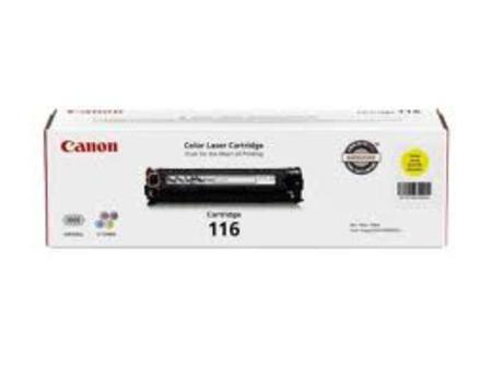 Canon 116 Yellow Original Laser Toner Cartridge