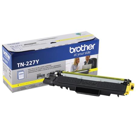 Brother TN227Y Yellow Original High Capacity Toner Cartridge